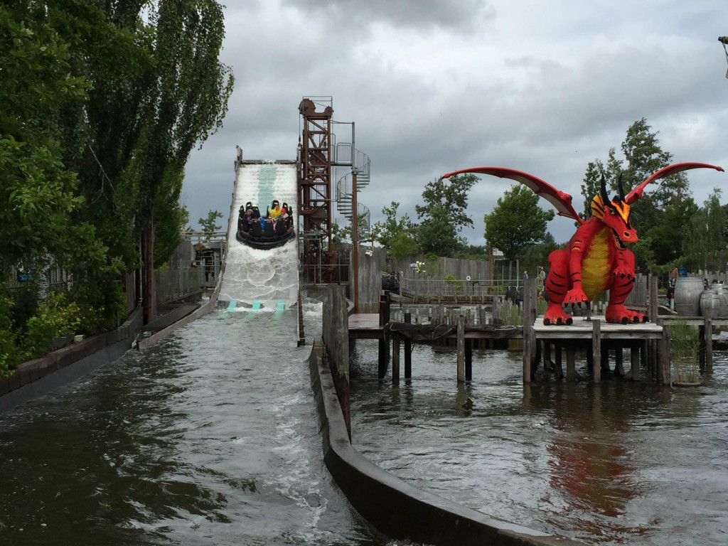 Vikings River Splash Legoland Billund