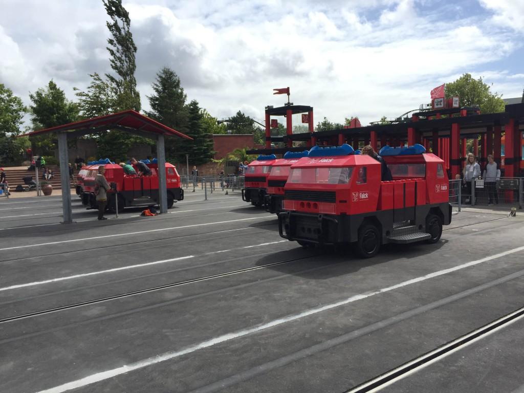 Falck Fire Brigade Legoland Billund