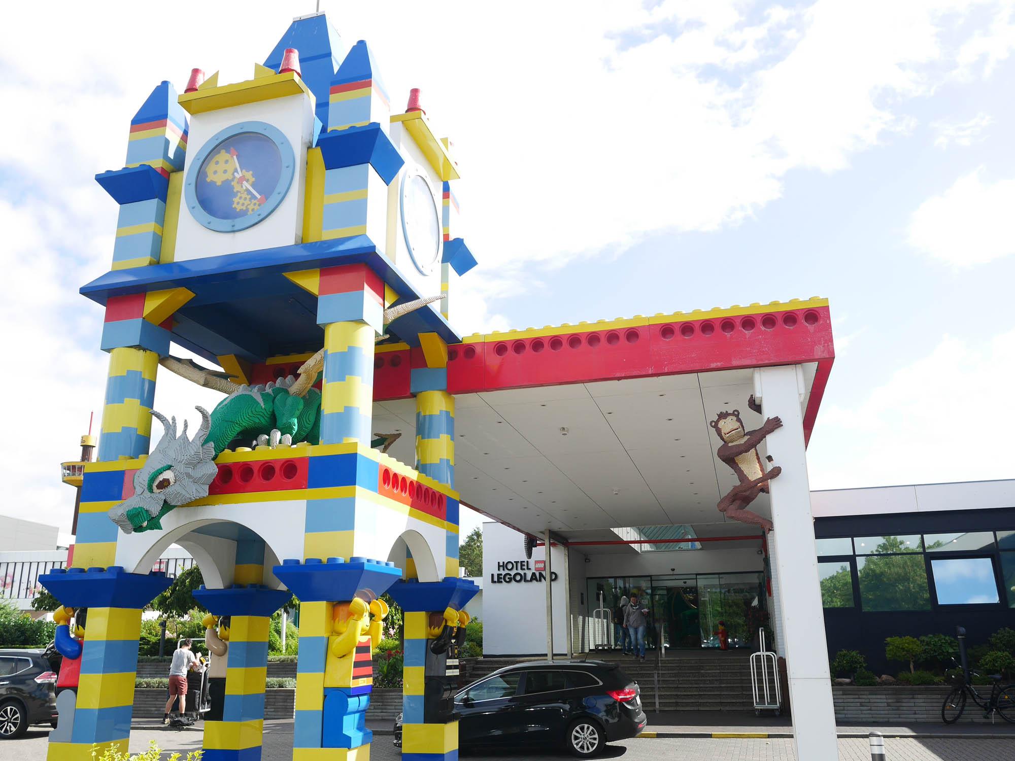 Helt nye Legoland Hotell Billund – en natt i Ninjagolandet - Matochresebloggen JT-48