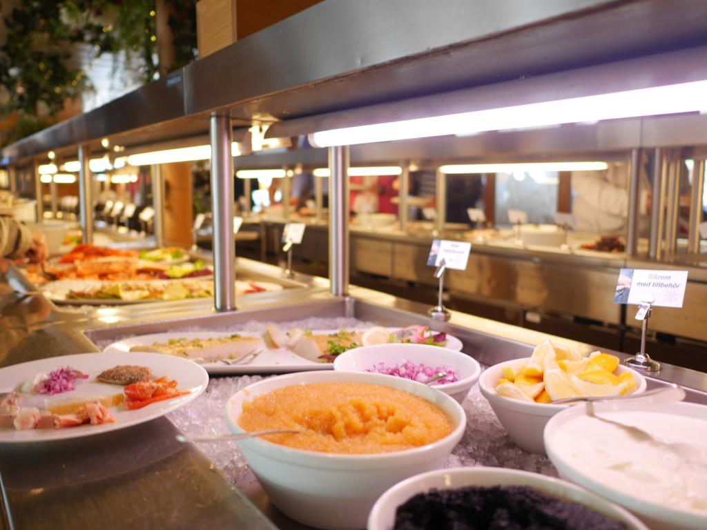 Buffetrestaurangen på Eckerölinjen