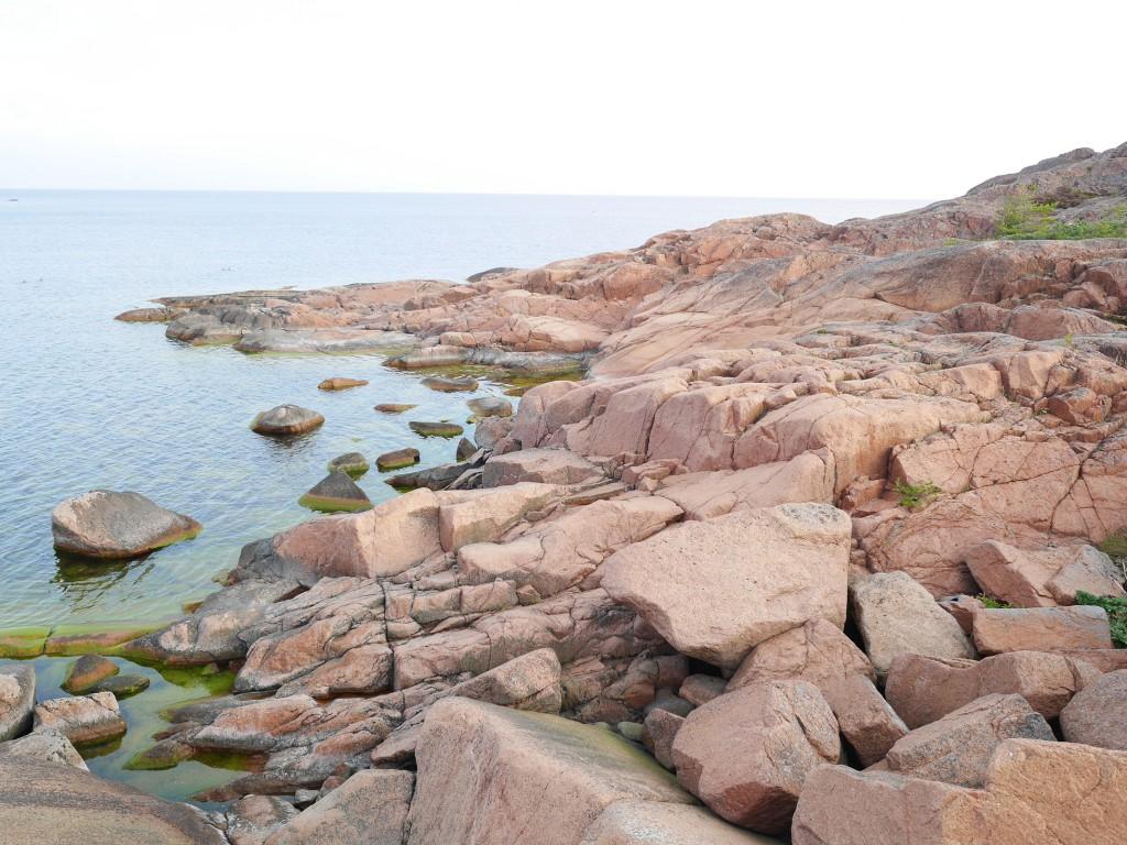 Klippor på Havsvidden