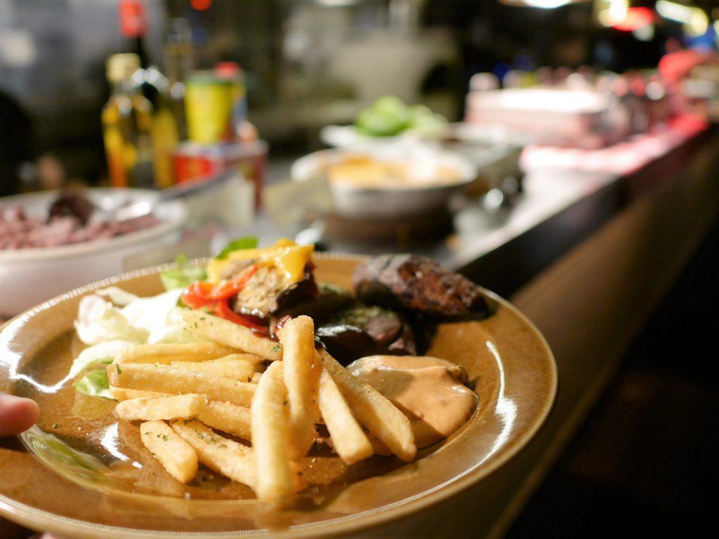 Grillbuffé restaurang Grill