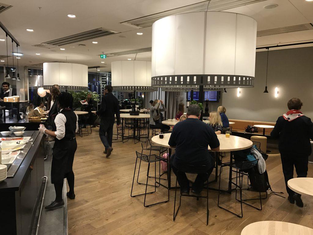 Sas-loungen Arlanda