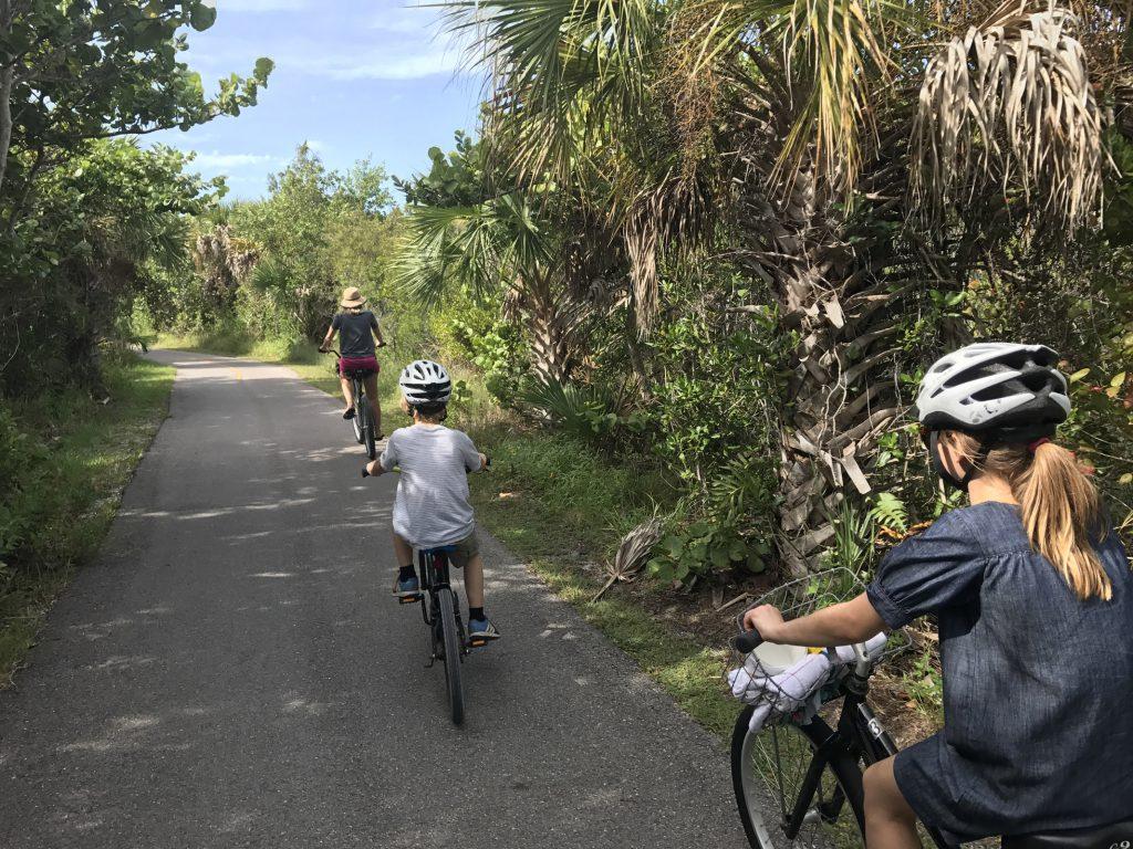 Cykling Sanibel Island