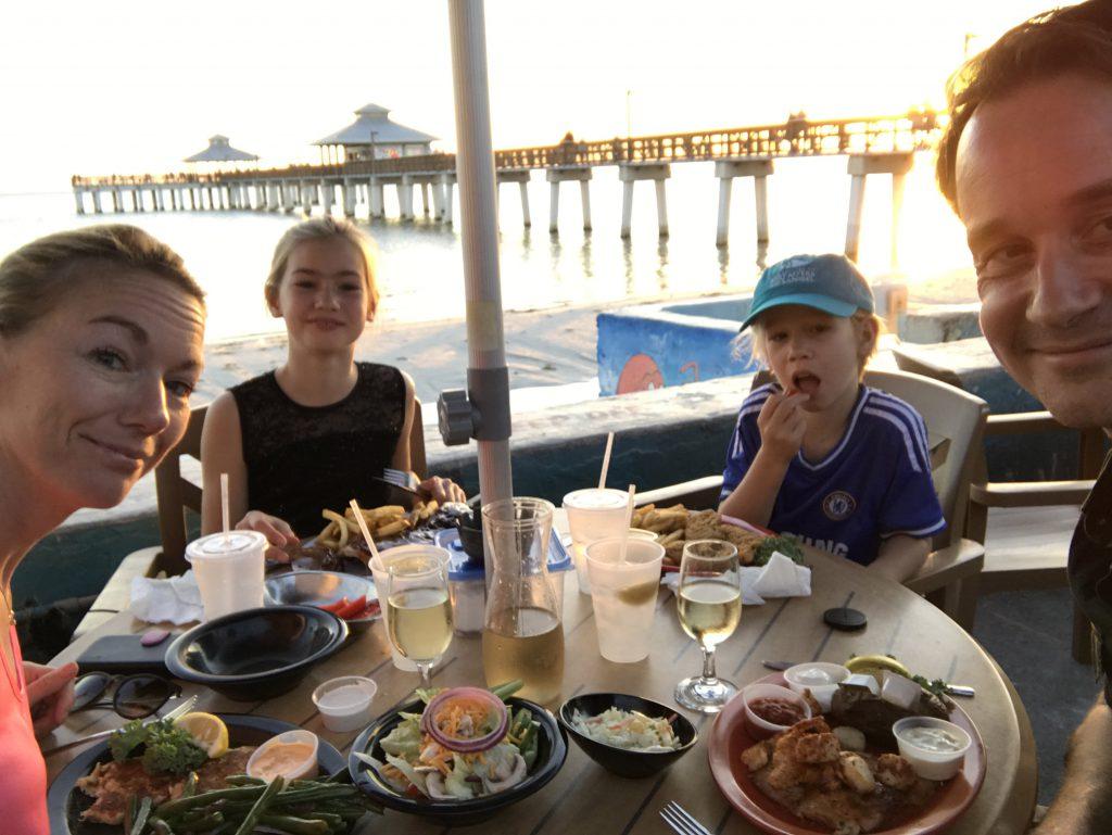 Fort Meyers Beach Florida Pierside Grill
