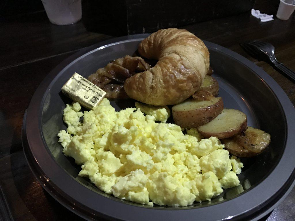 Universal Orlando - frukost