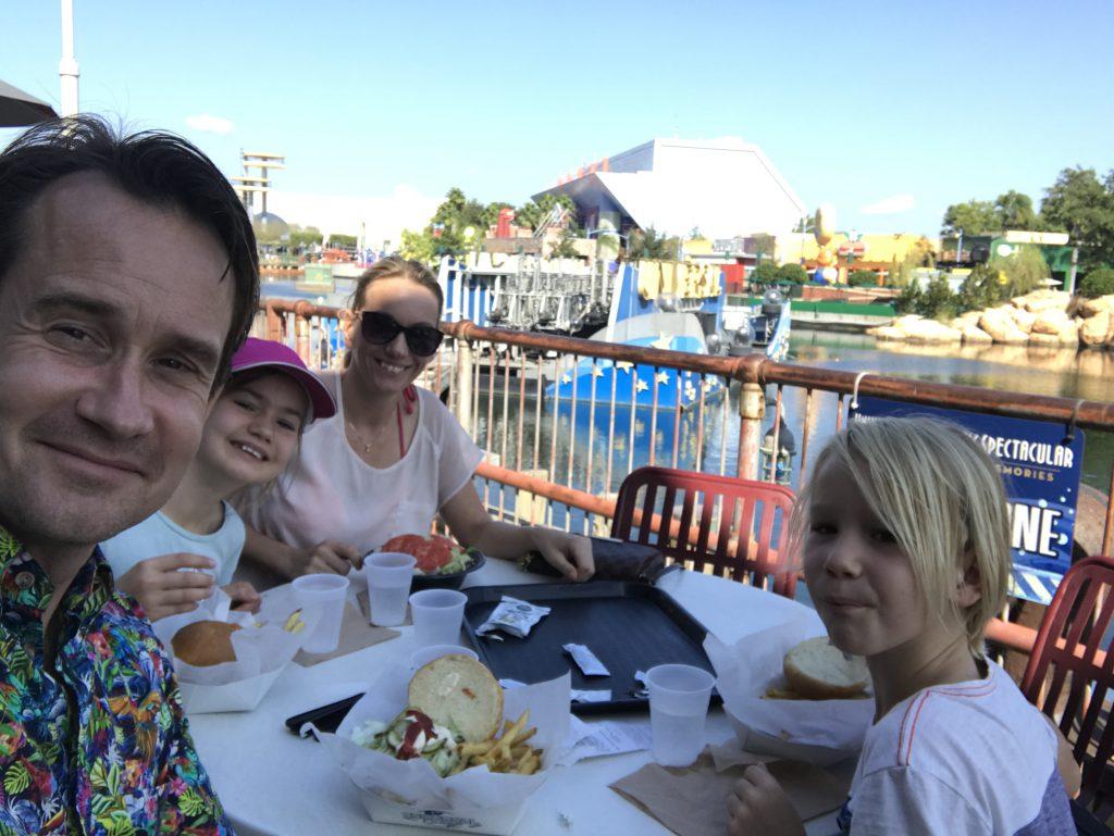 Universal Orlando - lunch