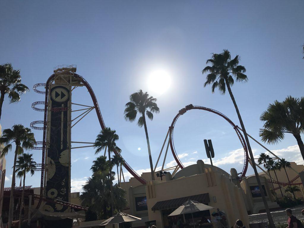 Universal Orlando Berg- och dalbanan Hollywood Rip Ride Rockit