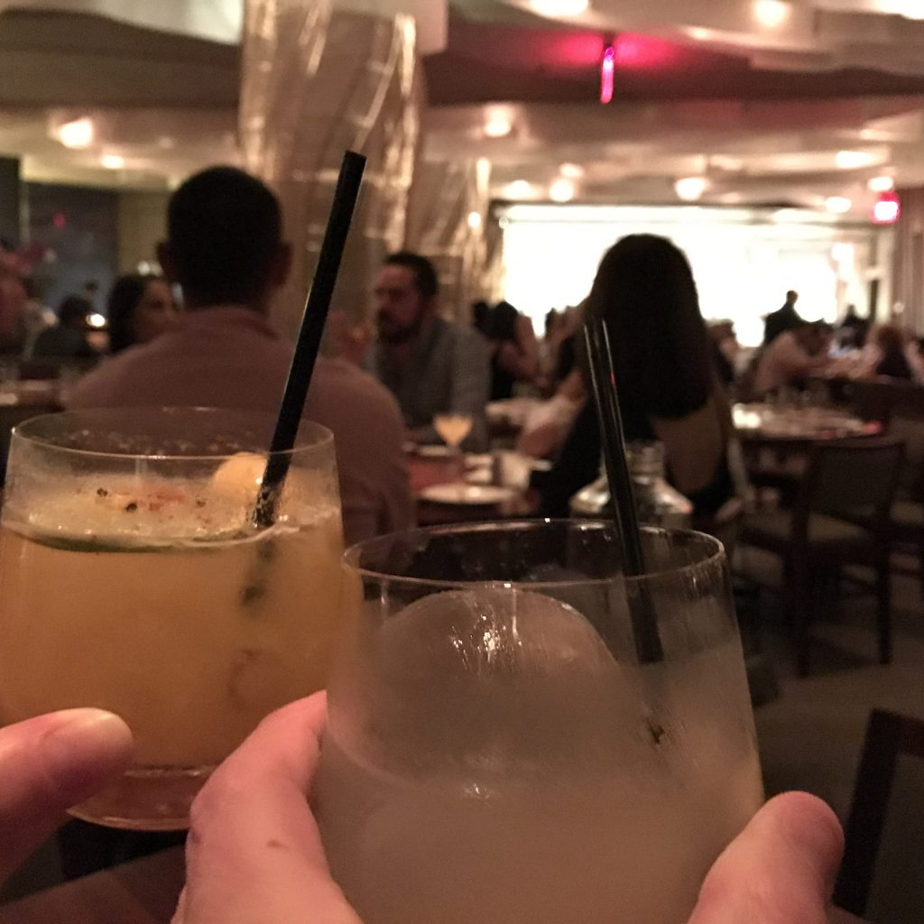 Nobu Restaurang Miami Coctails