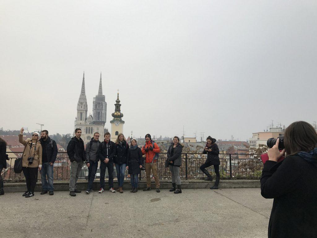 Utsikt över Zagreb