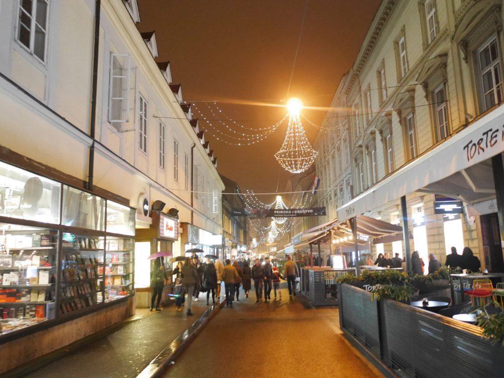 Julmarknad Zagreb