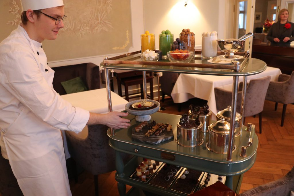 Jacob's restaurant i Hamburg