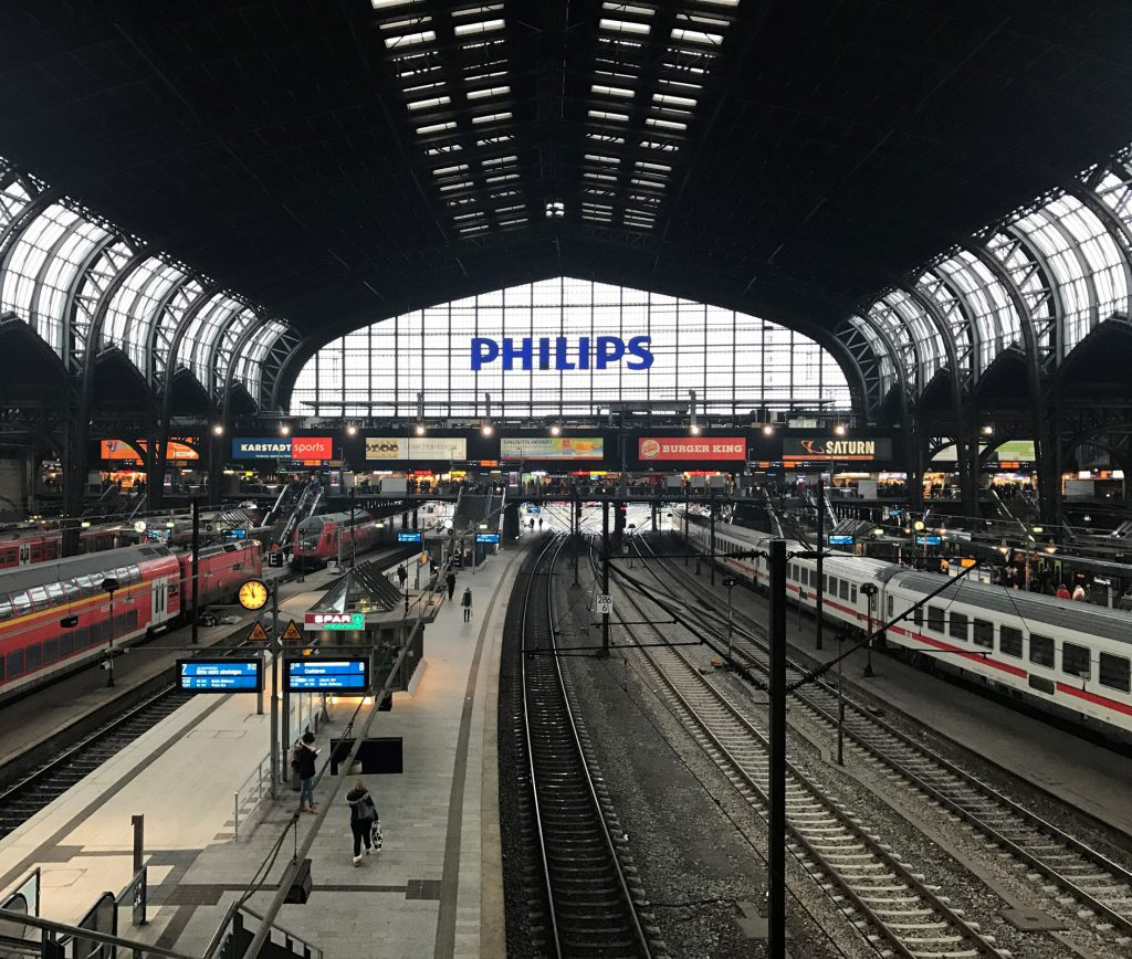 Hamburgs pampiga centralstation