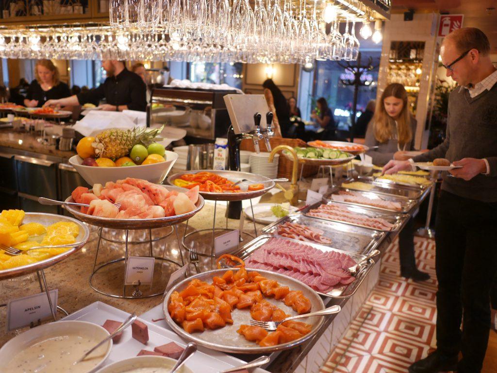 Haymarket Hotell Frukost