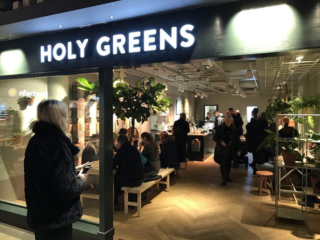 Holy Greens i Mood-gallerian