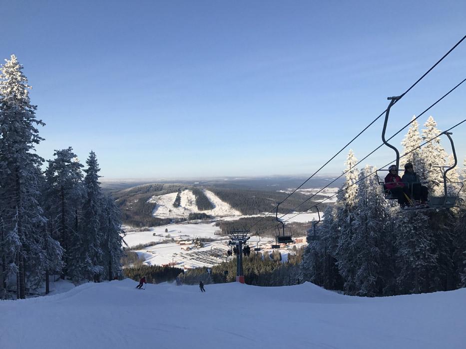 Romme Alpin skidåkning nära Stockholm