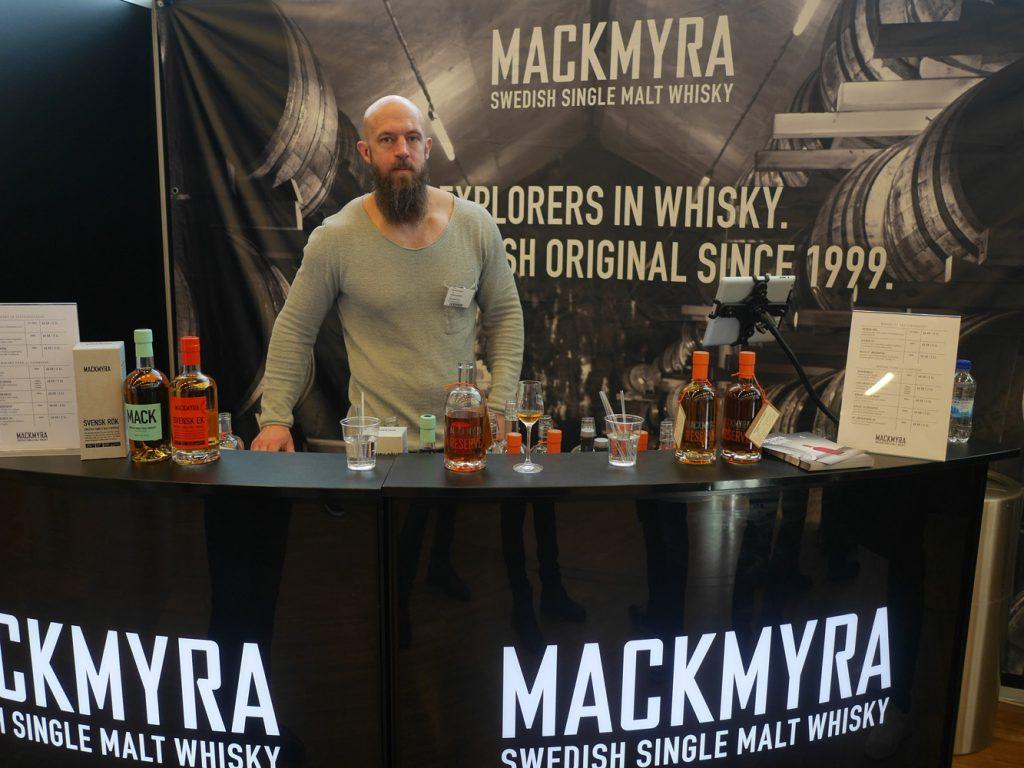 Mackmyra på Destillat Stockholm
