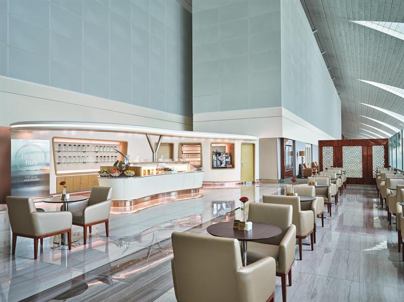 flygplatslounge Emirates