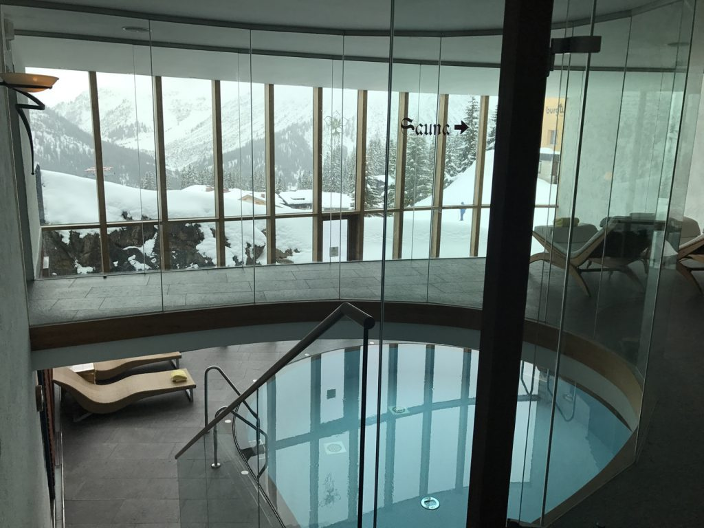 Hotel Goldener Berg i Oberlech - Spa