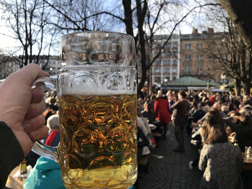 Biergarten am Vikualienmarkt