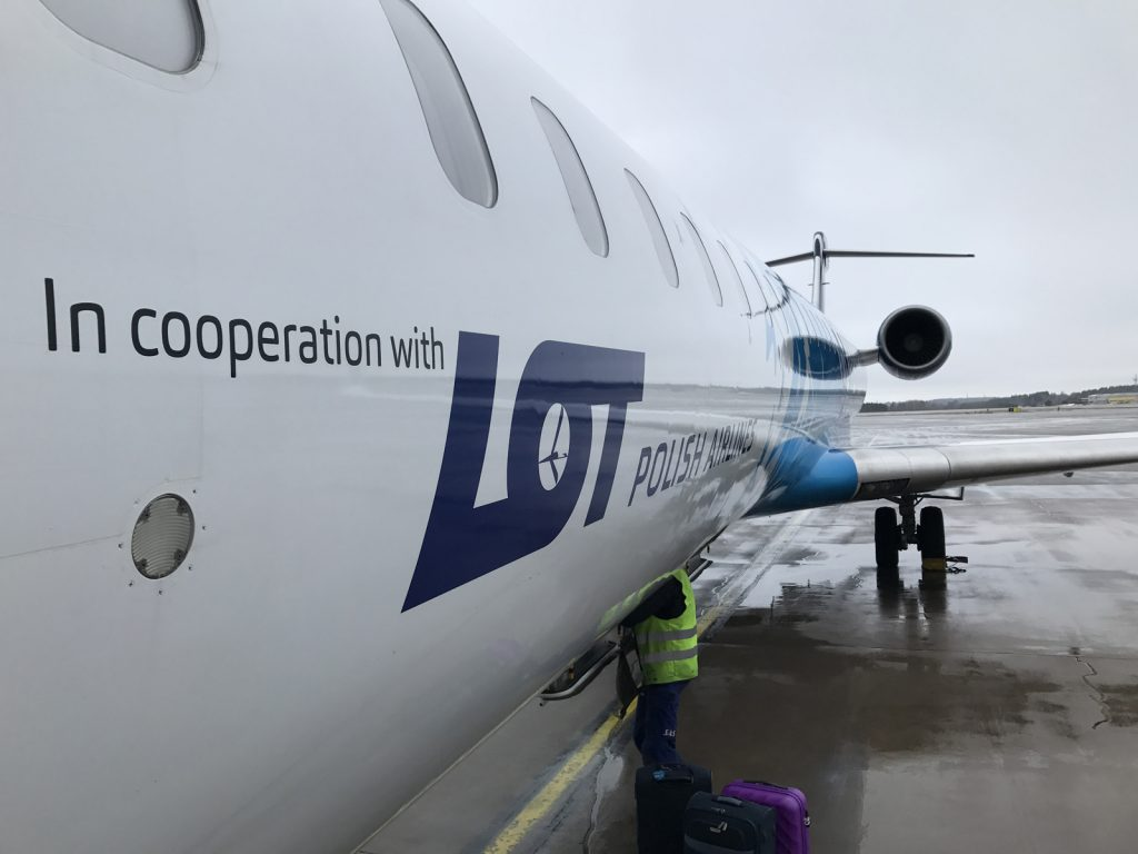 Weekend i Warszawa flyg Lot