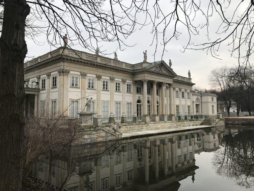 Sightseeing i Warszawa Łazienki Park