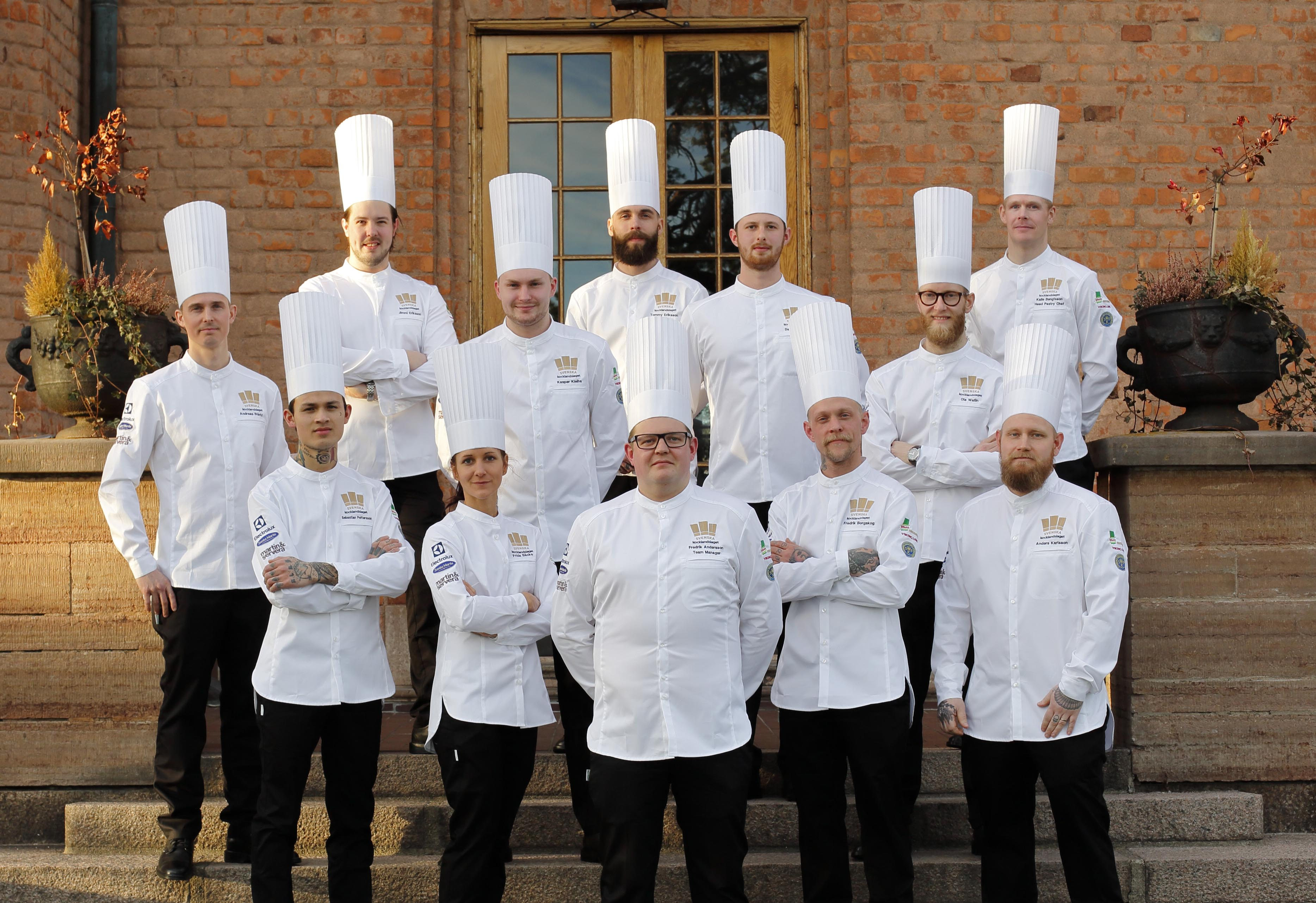 Sverige tog storslam i matlagnings os