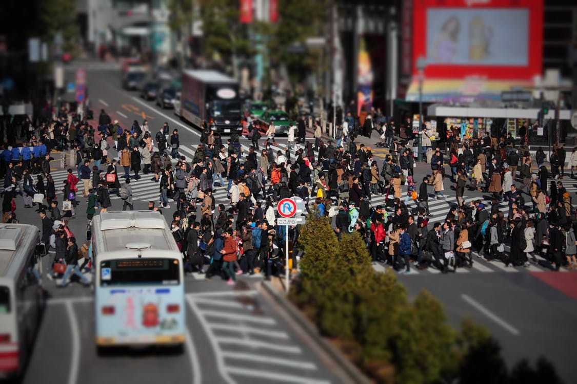 Tokyo borjade veckan uppat