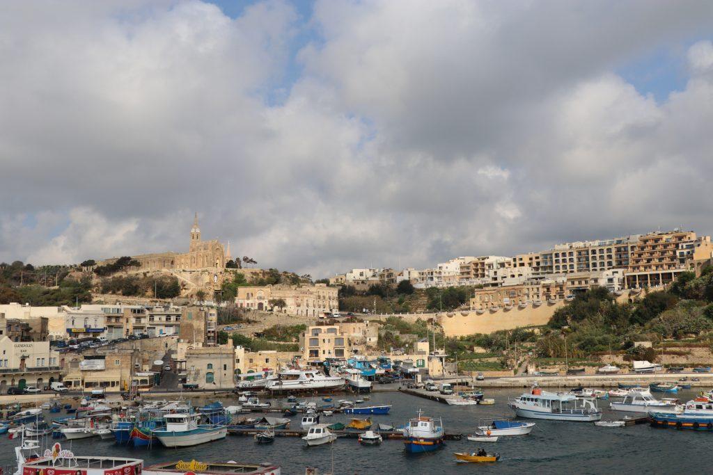 Färja till Gozo