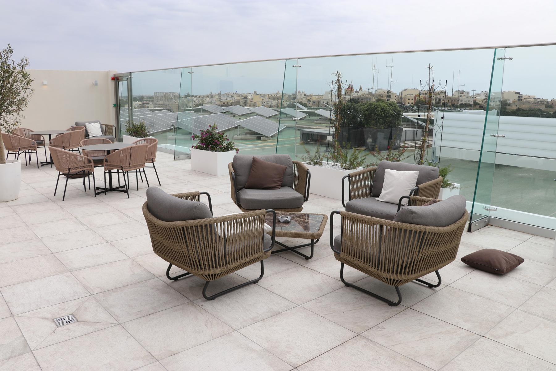 VIP-lounge på Maltas Flygplats