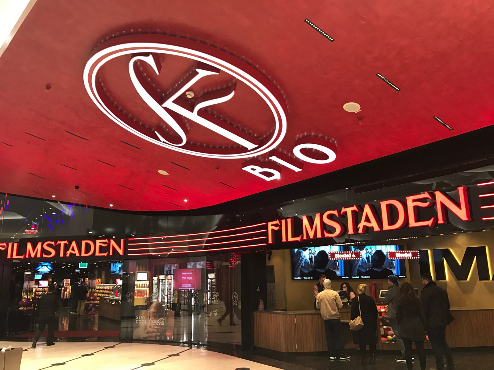 IMAX på Filmstaden Mall of Scandinavia
