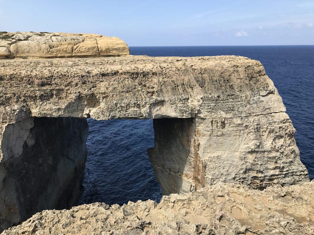 The new window Gozo