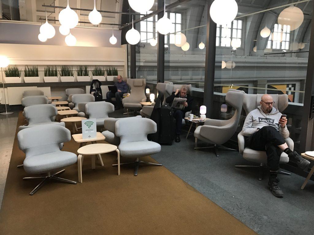 SJ Lounge i Stockholm
