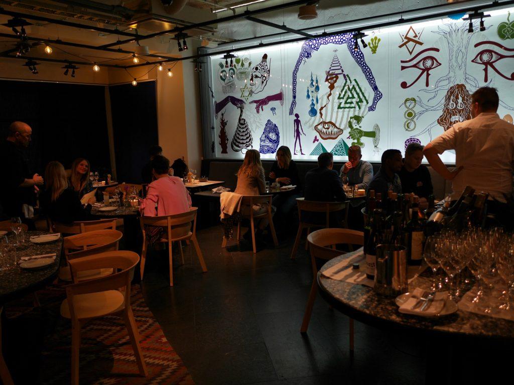 Restaurangen på Hobo Hotel
