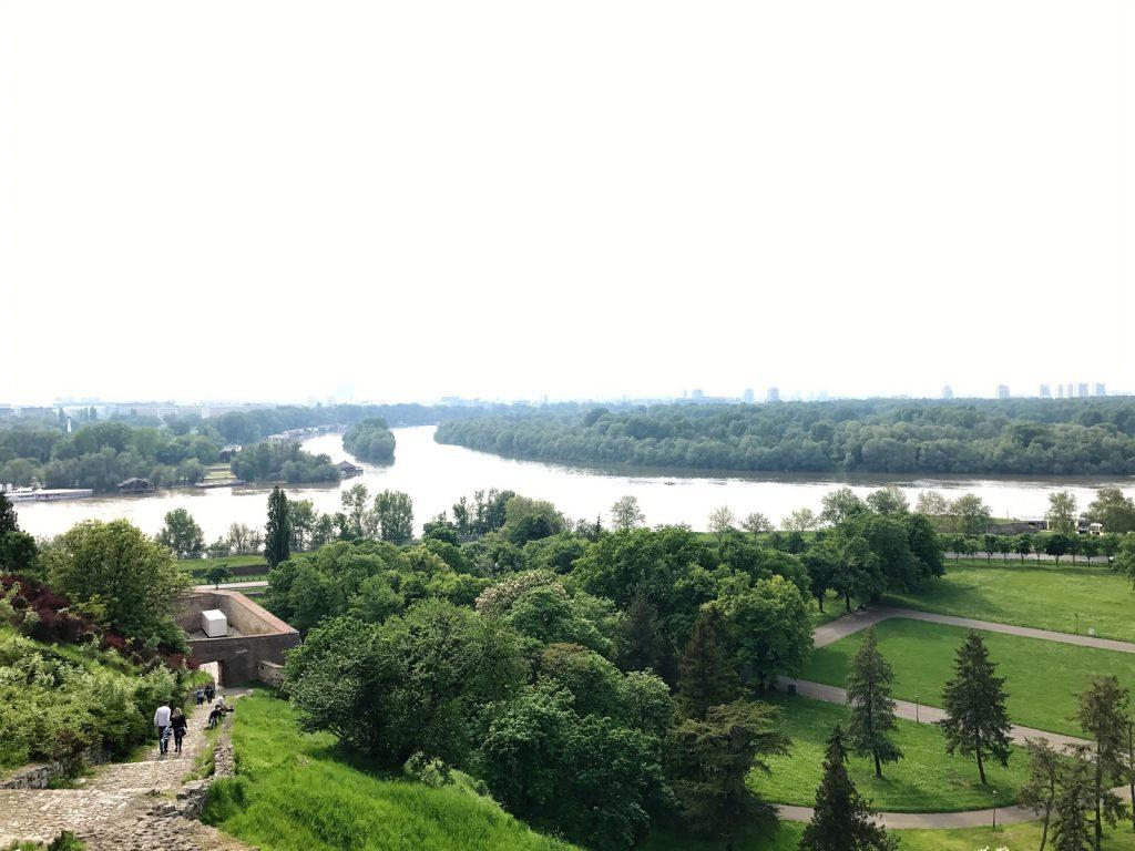 Sightseeing i Belgrad