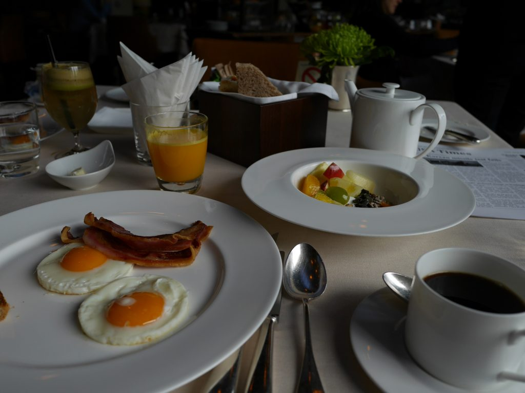 Square Nine Frukost