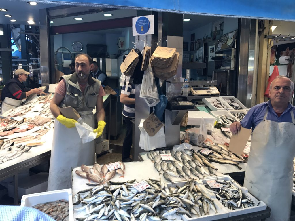 Sightseeing i Thessaloniki - Modiano Market