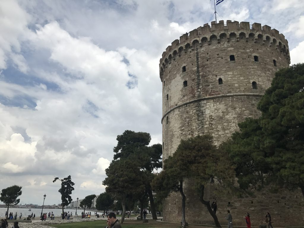 Sightseeing i Thessaloniki - White Tower
