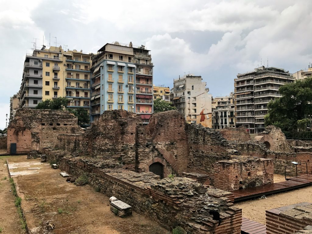 Sightseeing i Thessaloniki - Roman Forum