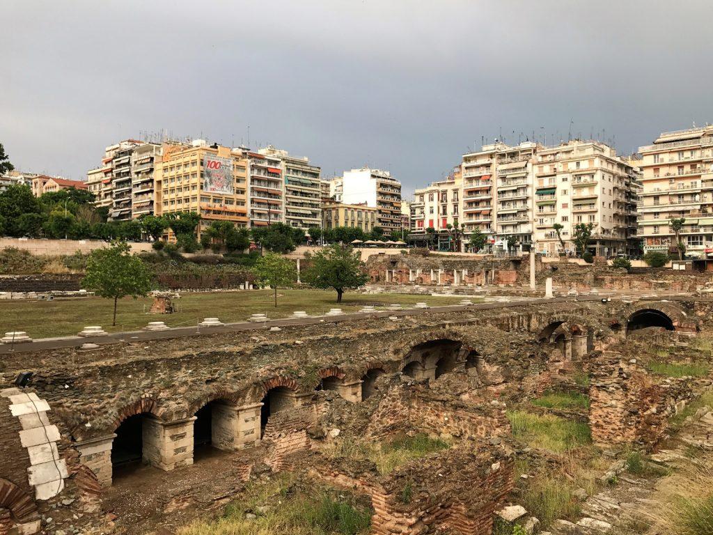 Sightseeing i Thessaloniki - Roman Forum