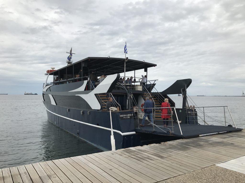 Sightseeing i Thessaloniki - båtutflykt