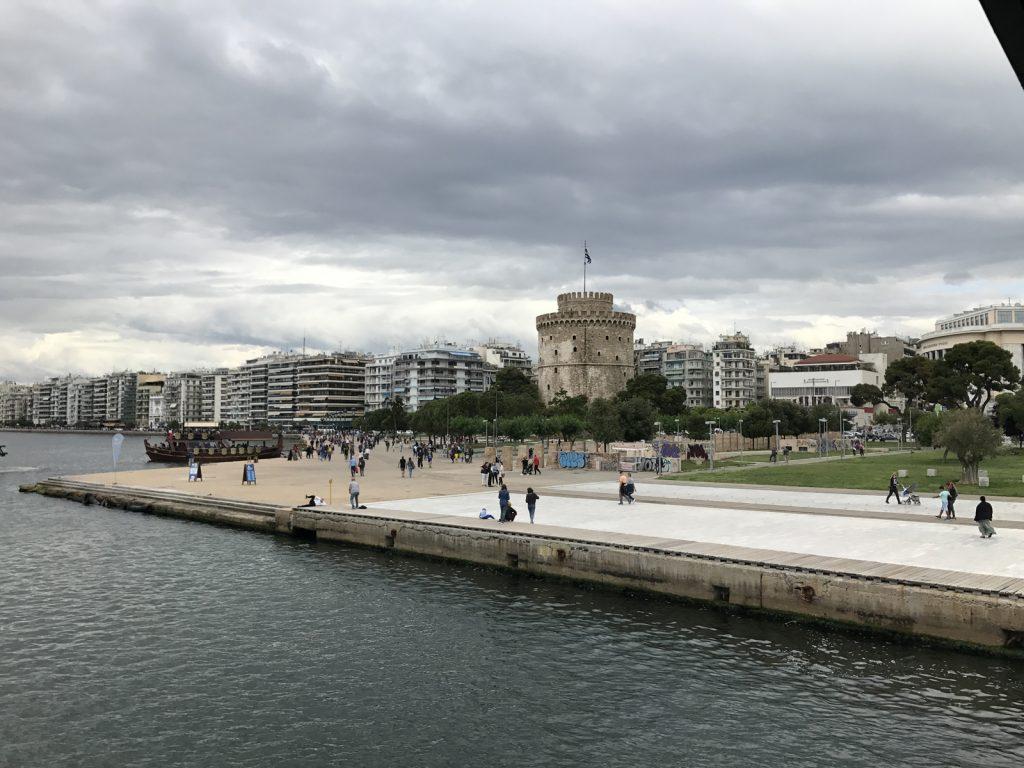 Sightseeing i Thessaloniki