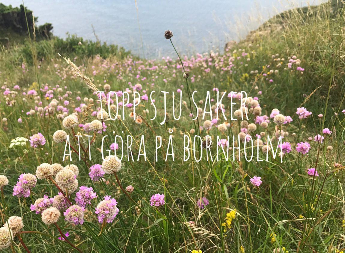 Bornholm topp sju saker att göra