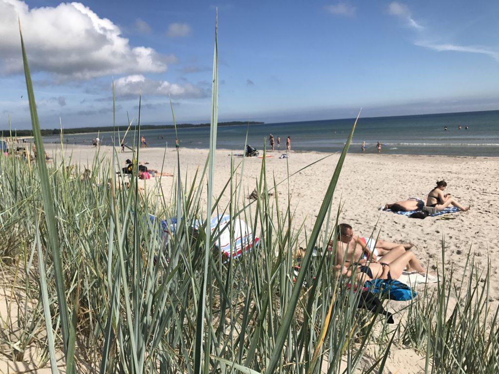 Sudersand Strand på Fårö