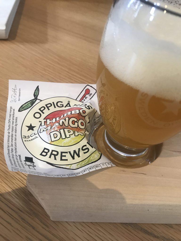 Ölprovning på Oppigårds bryggeri