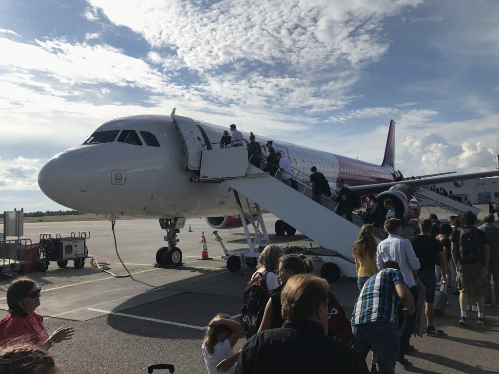 Flyg till Gdansk med Wizz air