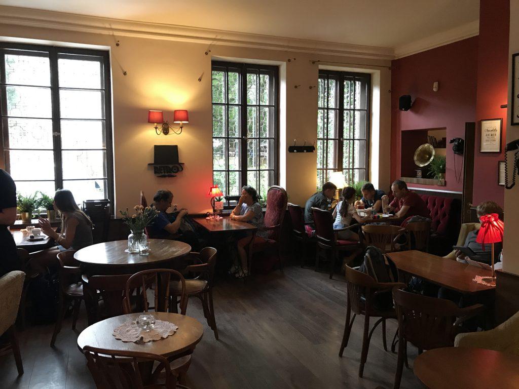 Restauranger i Gdansk - Retro Café