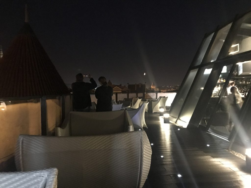 Gdansks enda takbar -Hilton