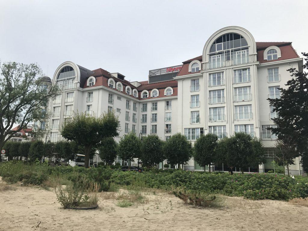 Hotell i Sopot -Sheraton