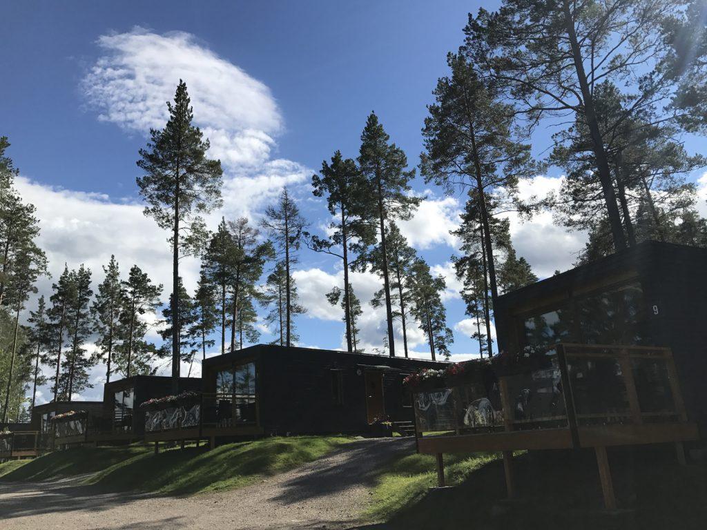 Havsstuga Furiviks på camping